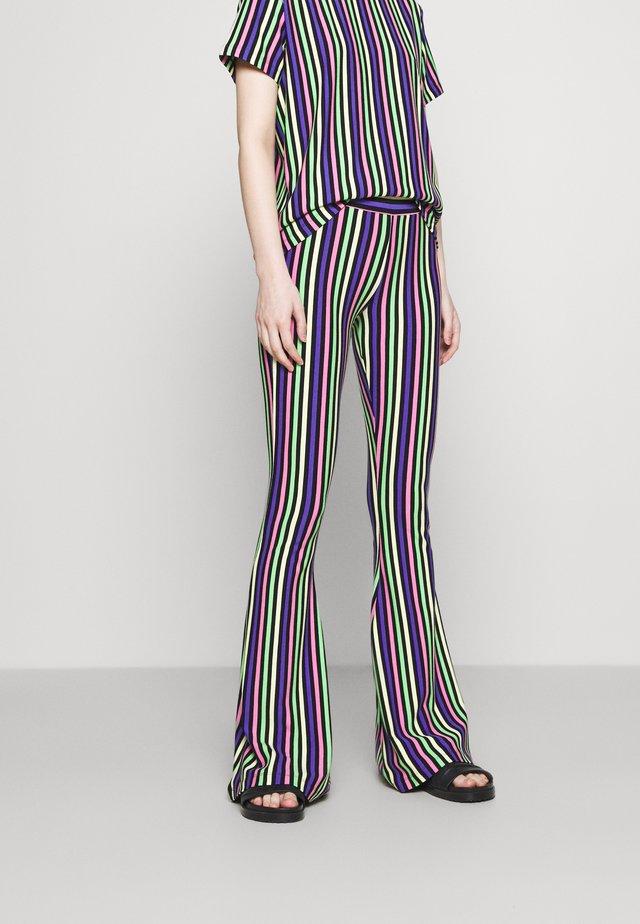 RAI FLARED - Pantalon classique - multi-coloured