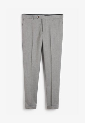 Oblekové kalhoty - grey