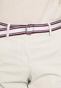 Tommy Hilfiger - SLIM PANT - Trousers - light stone - 5