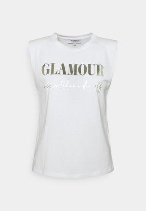 DAX - Print T-shirt - off white
