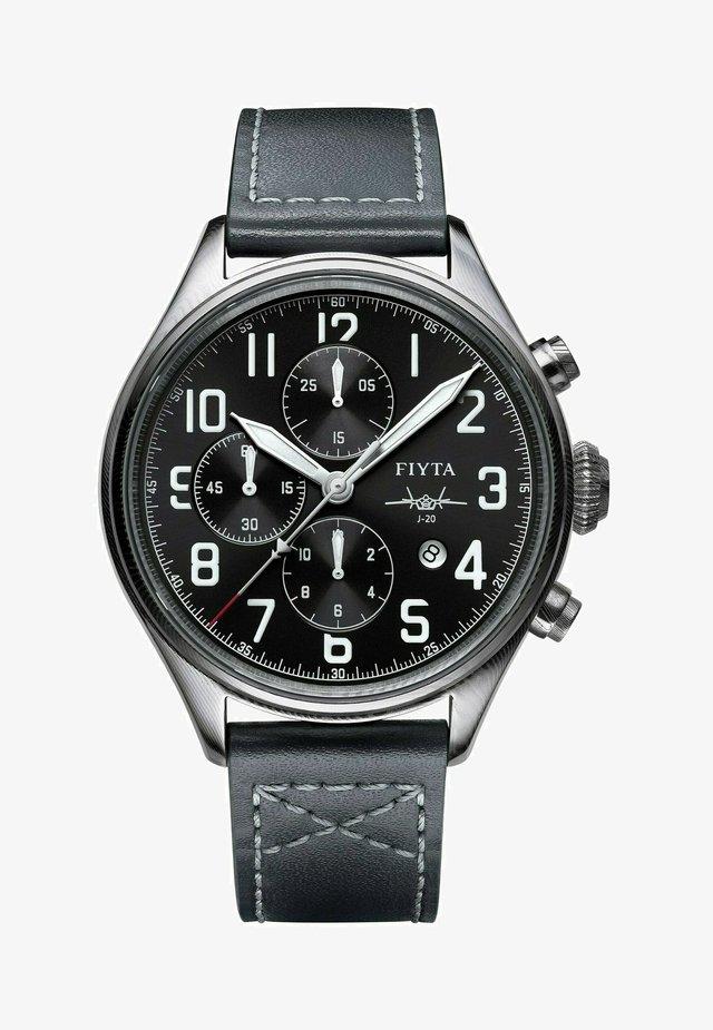 MACH J-20 PILOT AUTOMATIKUHR - Chronograph watch - anthracite