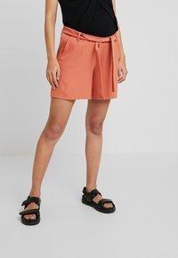 9Fashion - NATALLY - Shorts - brick orange - 0