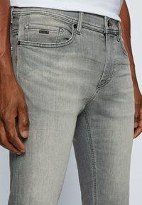 BOSS - Denim shorts - light grey - 3
