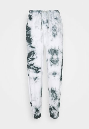 TIE DYE JOGGER - Tracksuit bottoms - grey