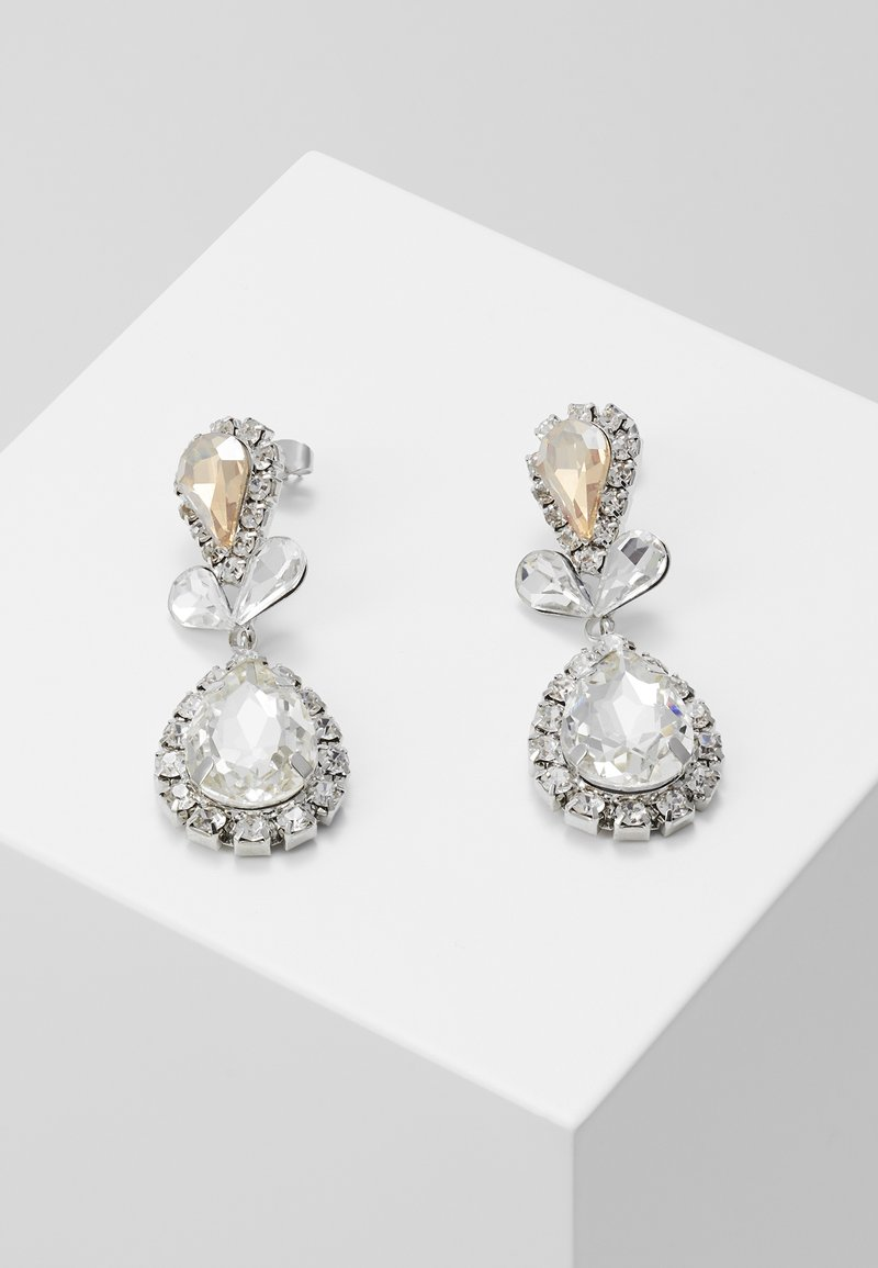 ONLY - ONLCABRINE EARRING - Oorbellen - silver-coloured