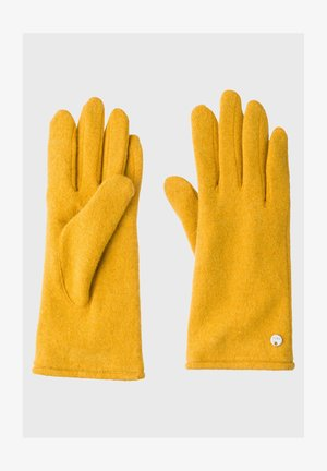 Gloves - saffron