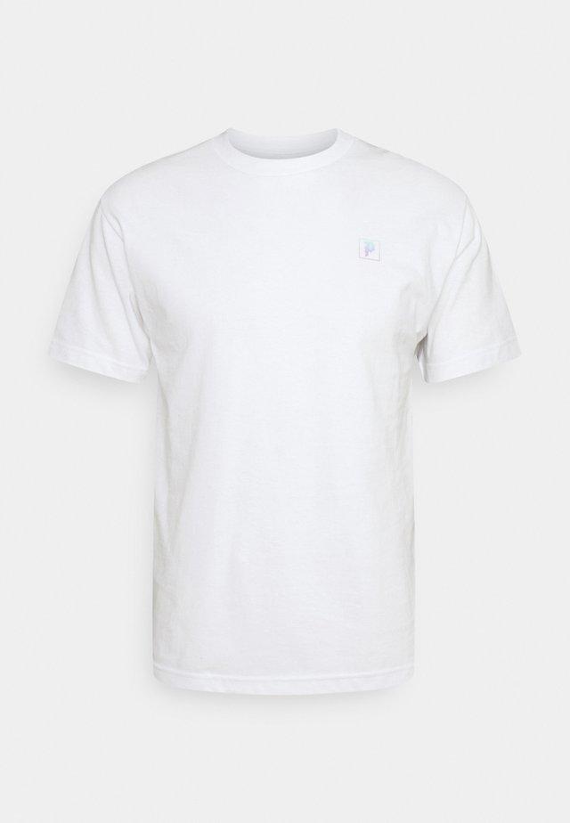 DIRTY  HUMMING TEE - Print T-shirt - white