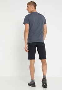 Mammut - RUNBOLD SHORTS MEN - Friluftsshorts - black