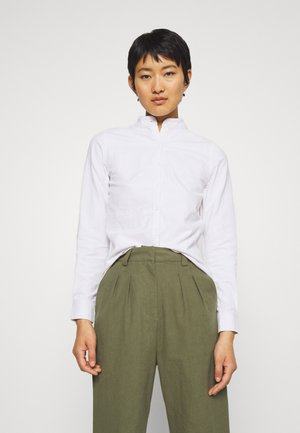 MANDARIN - Button-down blouse - white