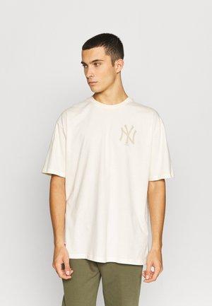 MLB NEW YORK YANKEES OVERSIZED SEASONAL COLOUR - T-shirt print - unbleached