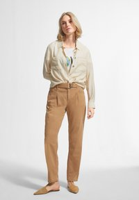 comma casual identity - Trousers - brown - 1