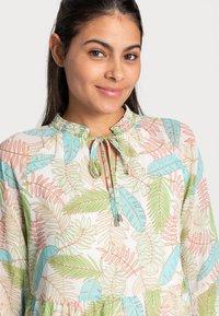 Esqualo - DRESS LAYERS VIRTUAL GARDEN - Day dress - multi-coloured - 4