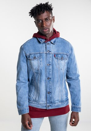 THE TRUCKER  - Farkkutakki - blue denim
