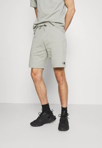 The North Face - GRAPHIC LOGO - Shorts - wrought iron - 0