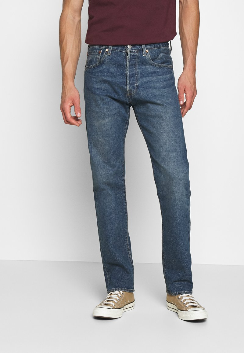 Levi's® - 501® '93 STRAIGHT - Jeansy Straight Leg - dark indigo - flat finish