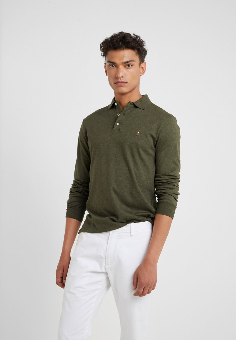 Polo Ralph Lauren - PIMA KNT - Polo shirt - alpine heather