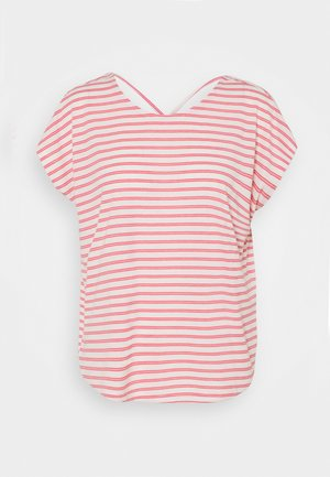 VMALONA - Basic T-shirt - honeysuckle/white