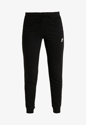TIGHT - Tracksuit bottoms - black/white