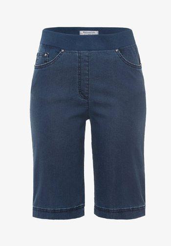 STYLE PAMINA BERMUDA - Denim shorts - stoned