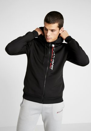 ZIP UP HOODY - Felpa aperta - black