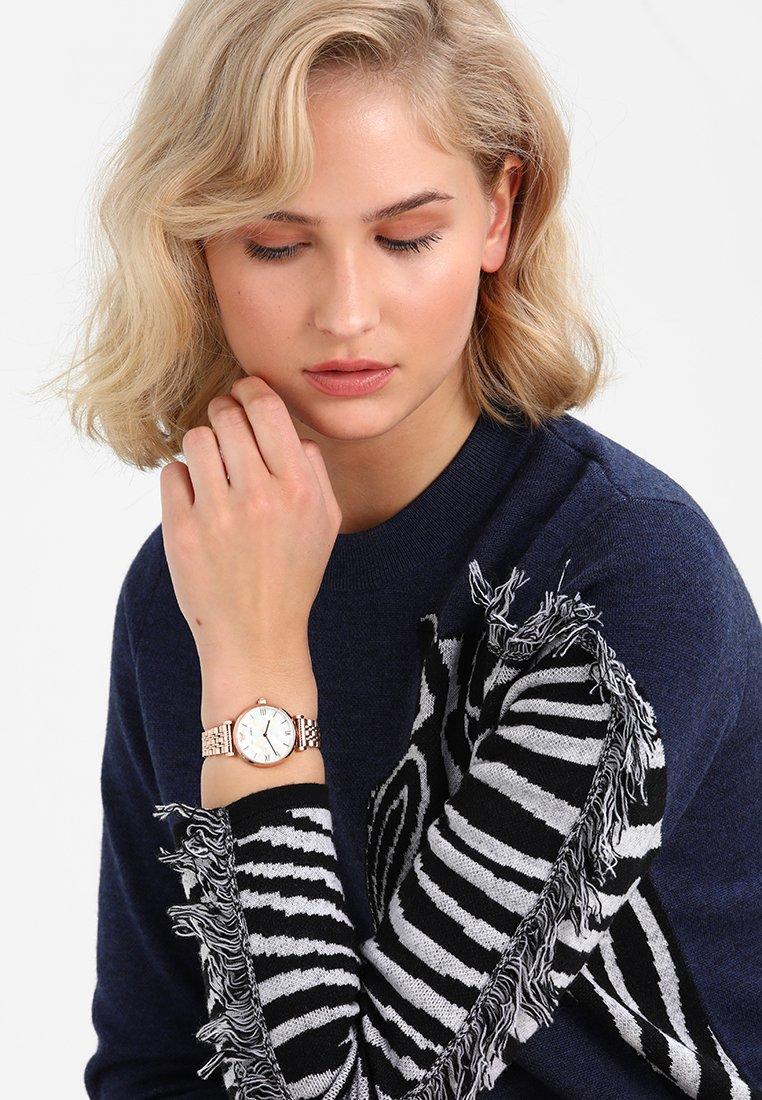 Emporio Armani - Uhr - roségold-coloured
