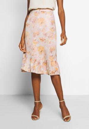 ELOISE - Pencil skirt - misty rose combi