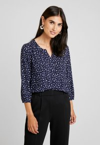 Betty & Co - Blouse - blue/cream - 0
