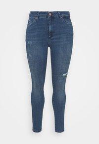 Vero Moda Curve - VMSOPHIA SCULPT - Jeans Skinny Fit - dark blue denim - 4