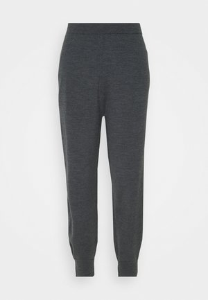 SLIT EMPIRE - Tracksuit bottoms - medium heather grey