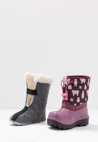Viking - SNOWFALL BEAR - Winter boots - violet/pink - 6