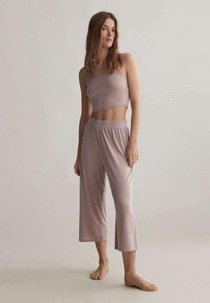 Pyžamový top - mauve