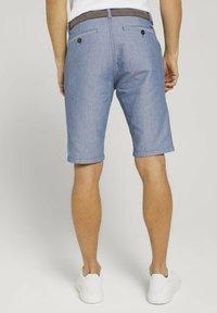 TOM TAILOR - Shorts - light blue minimal indigo - 2