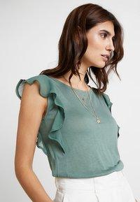 Anna Field - Print T-shirt - dark green - 3