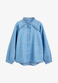Next - Button-down blouse - blue - 0
