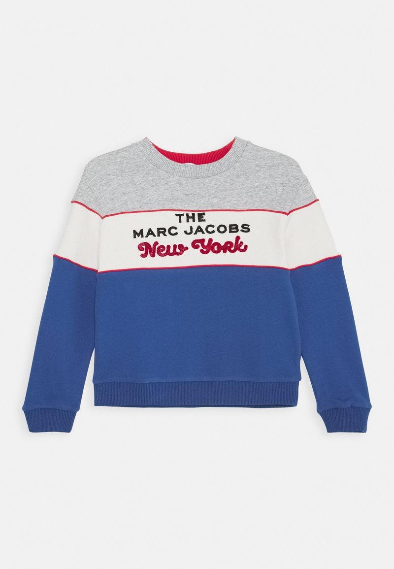 Little Marc Jacobs - UNISEX - Sweatshirt - grey/blue