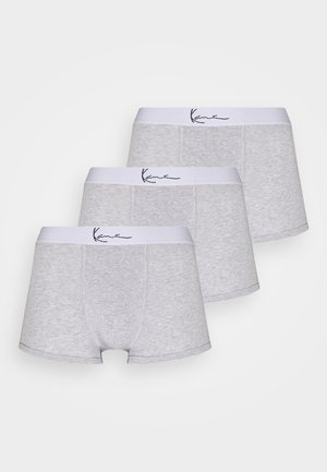 SMALL SIGNATURE ESSENTIAL BRIEFS 3 PACK - Panties - ash grey