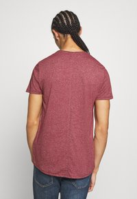 Tommy Jeans - ESSENTIAL JASPE TEE - T-shirts basic - wine red - 2