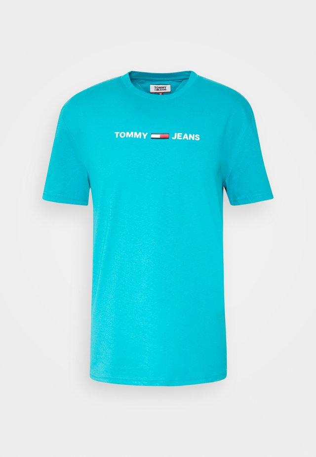 Camiseta estampada - exotic teal