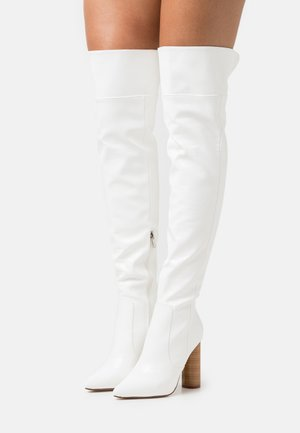 TOFINO - Over-the-knee boots - white