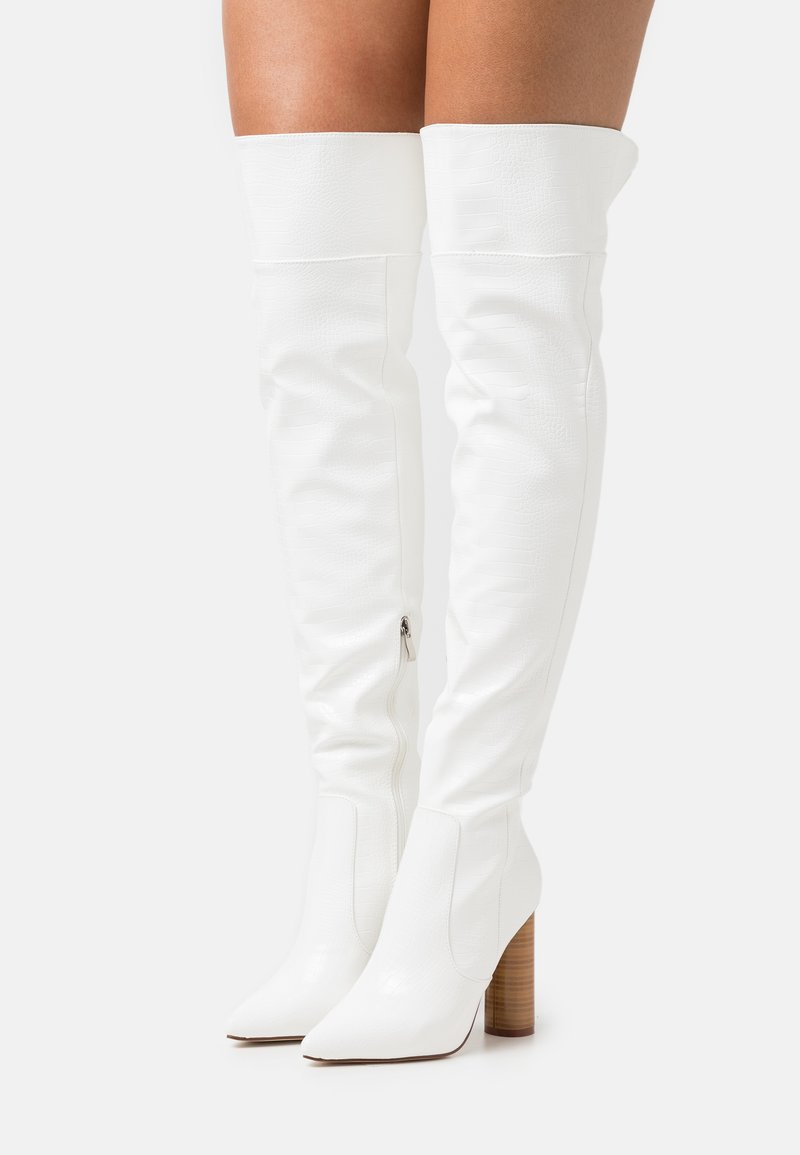 RAID - TOFINO - Over-the-knee boots - white