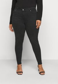 Pieces Curve - PCDELLY  - Jeans Skinny Fit - black - 0