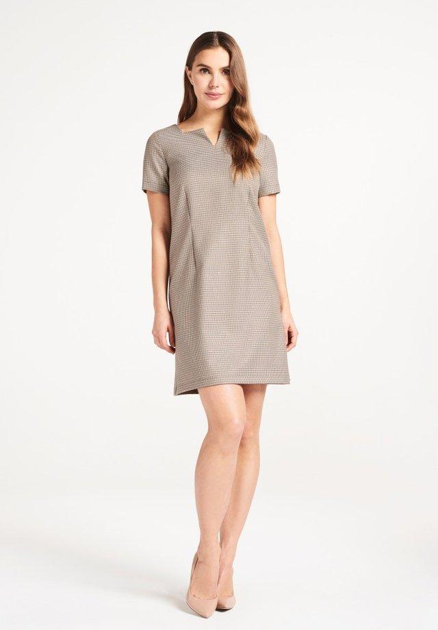 JACKIE  - Korte jurk - check brown