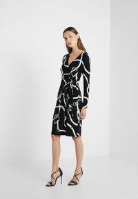 Lauren Ralph Lauren - MATTE DRESS - Fodralklänning - black/colonial - 1