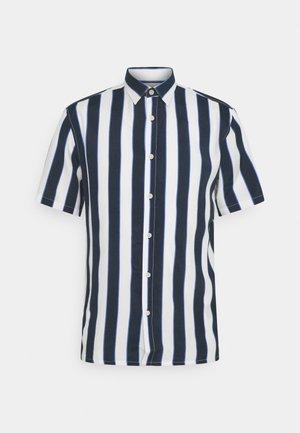 PRINT SHIRT - Shirt - navy