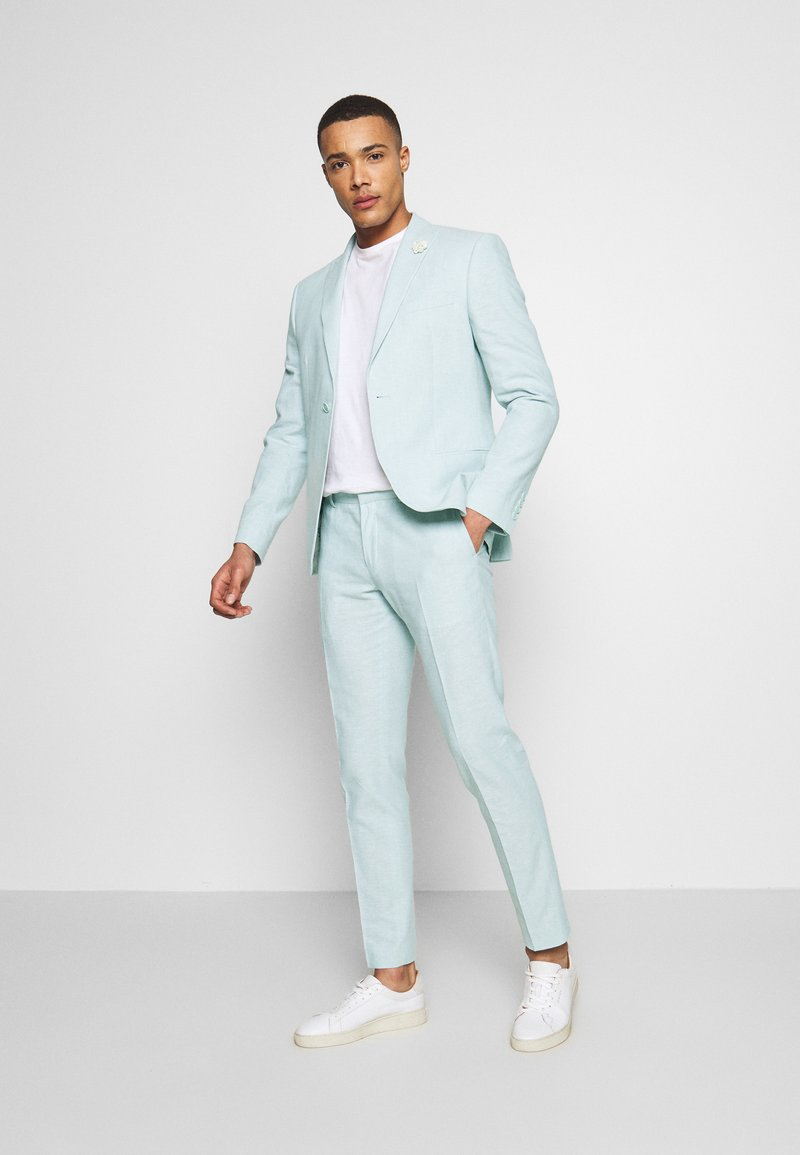 Isaac Dewhirst - PLAIN WEDDING - Oblek - mint