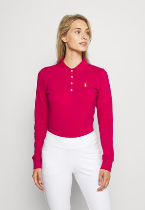 KATE LONG SLEEVE - Polo shirt - aruba pink
