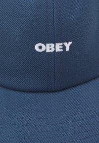 Obey Clothing - SERGE PANEL STRAPBACK UNISEX - Lippalakki - dark blue - 3