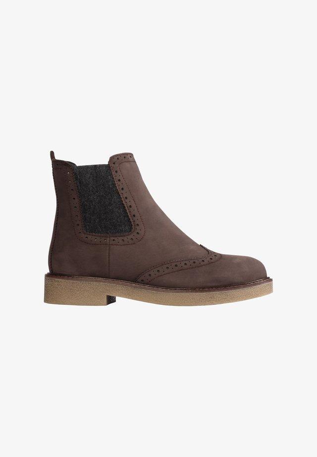 RUDY - Ankle boots - testa di moro