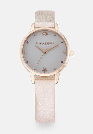 UNDER THE SEA - Horloge - rose gold-coloured
