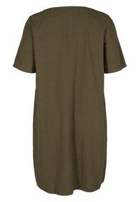 Zizzi - Shirt dress - ivy green - 5